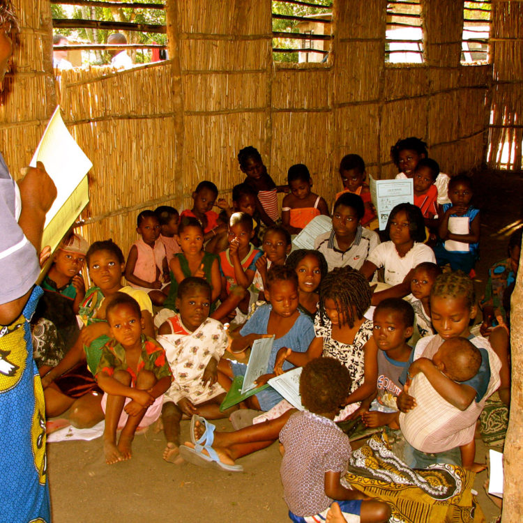 The Children's Club Impacting School Attendance in Mozambique