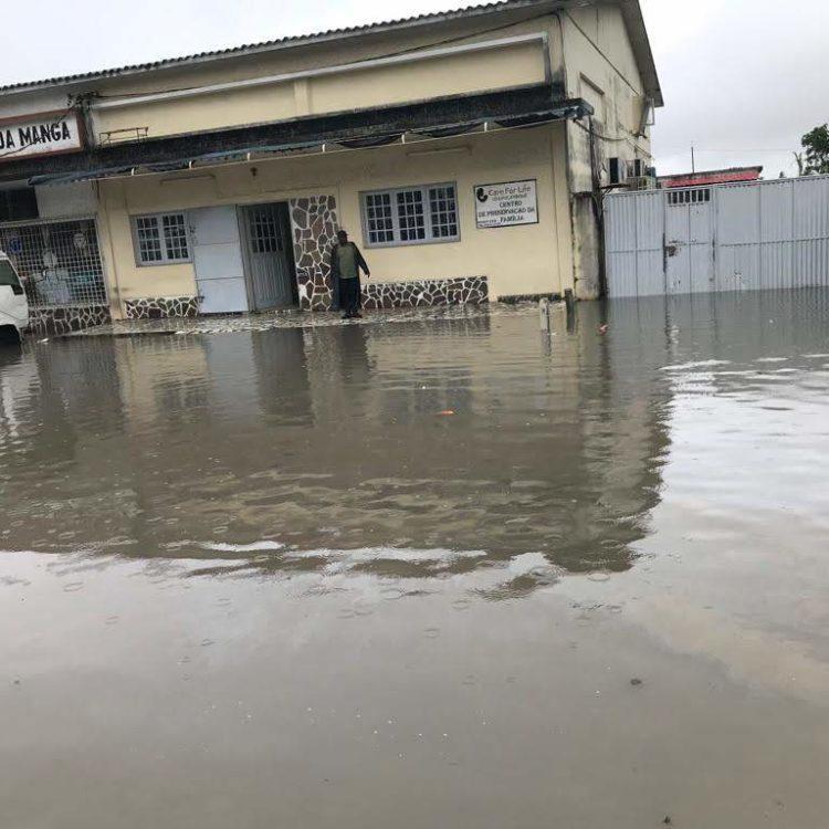 Ciclone Desmond inunda escritórios da Care for Life em Moçambique